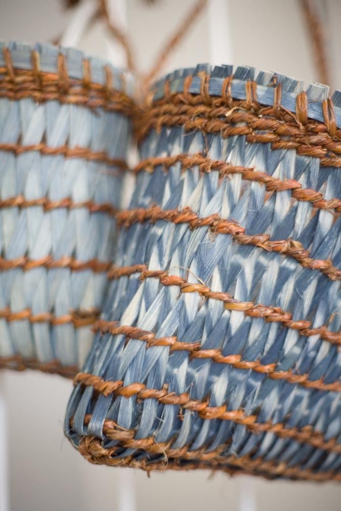 Basket Weaving With Reeds : Images about taaniko twined weaving on