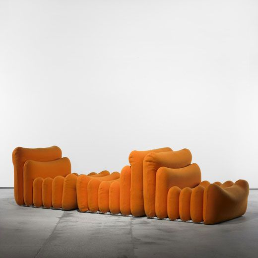 Joe-colombo-Additional-System-Seating-for-Sormani,-1967