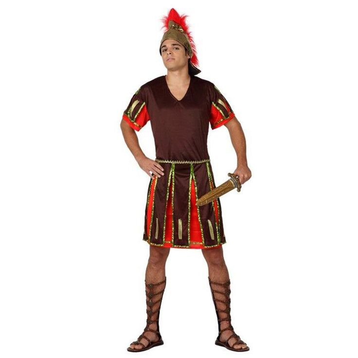 Disfraz de Romano Espartano para hombre #disfraces #carnaval #novedades2016