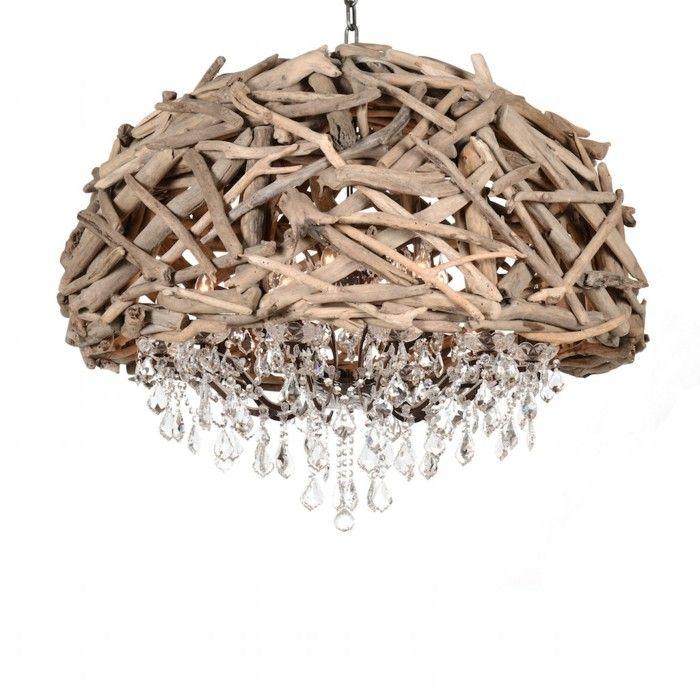 Treibholz Lampe Diy Ideen Kyltur Natur