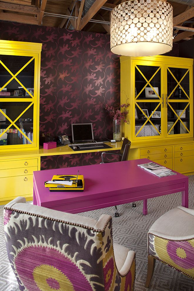 Get Ready Now U2013 Exciting Hues For A New Years Home Office Makeover