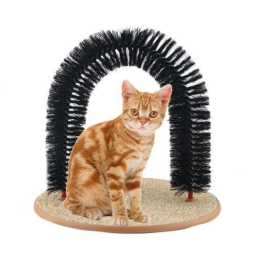 self-groomer and massager for cat gifts for cat lovers