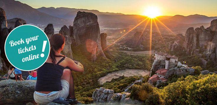 Daily tour to #Meteora from #Halkidiki #Greece  #thingstodo #daytour #tickets