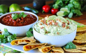 This avocado ranch dip is a game changer, try it!