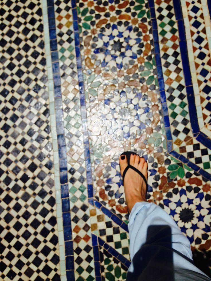 KINSA in Morocco - Tiles, Marrakech