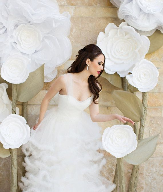 EXTRA giant paper flower decoration. Shop by FlowerVoyageBoutique, $49.90