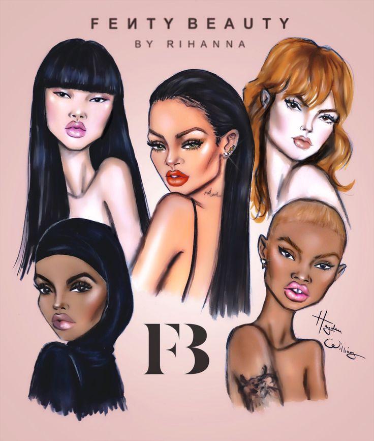 #FentyBeauty by #Rihanna