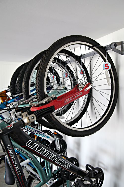 Organizing The Bikes In Your Garage Doesnu0027t Have To Be Hard. Use These