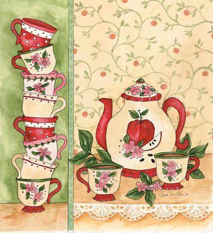 """Apple Tea Party"""