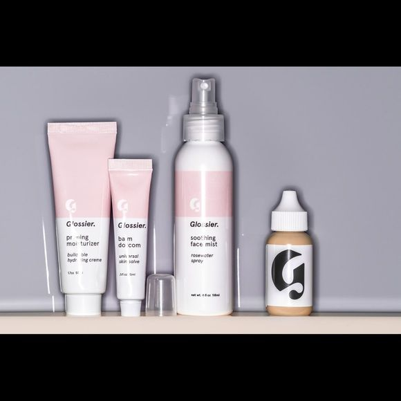 Glossier (discount code) Just fell in love with this brand and I thought I'd share it. They're worth checking out + get 20% of your purchase with the link:  https://www.glossier.com/#!/?utm_campaign=Glossier%20Widget%20-%20Embedded&utm_content=email&utm_medium=referral&utm_source=Friendbuy&fbuy_ref_code=dR_ju Makeup