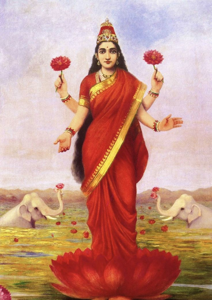 LAKSHMI...giver of wealth, food, and grain.