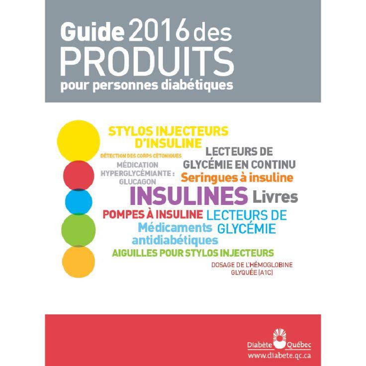 Guide des produits pour personnes diabétiques
