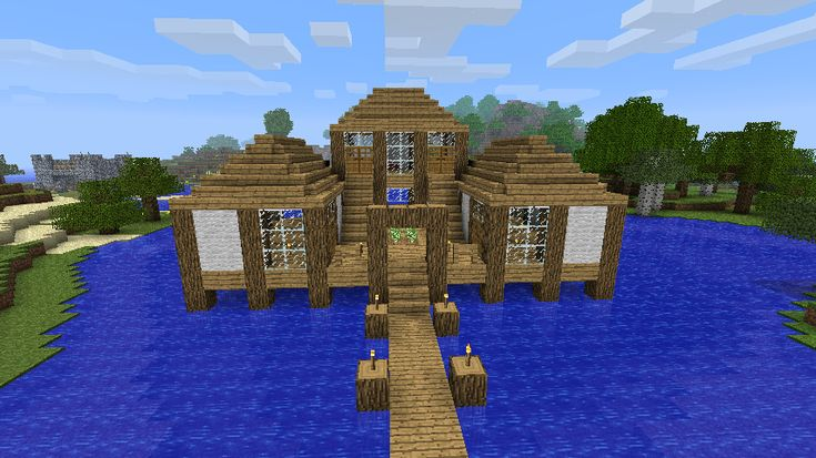 Minecraft House Blueprints | Waterhouse - Minecraft Constuctions Wiki