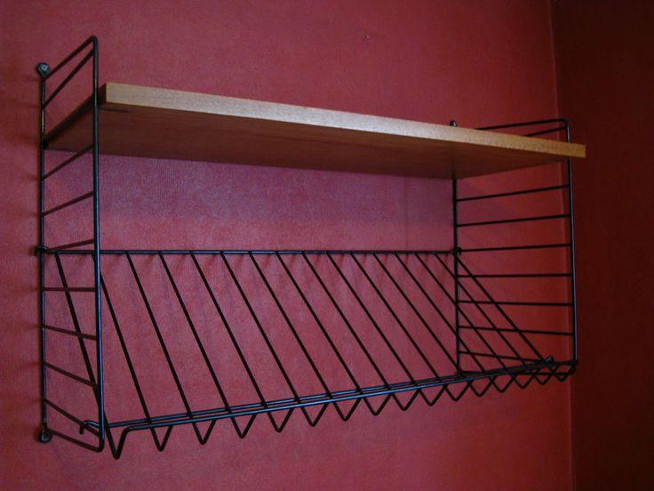 17 best images about string on pinterest deko shelves and swedish design. Black Bedroom Furniture Sets. Home Design Ideas