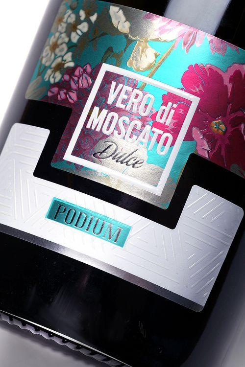 Design Studio 43'oz - Vero di Moscato PACKAGING DESIGN World Packaging Design Society│Home of Packaging Design│Branding│Brand Design│CPG Design│FMCG Design