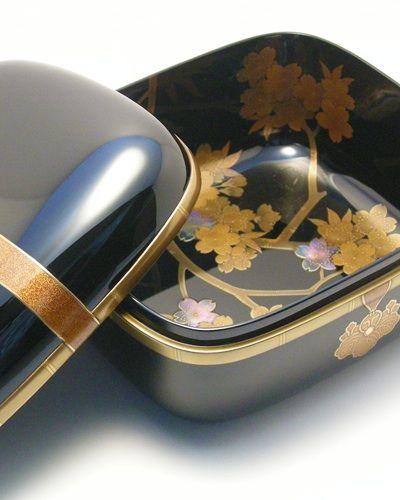 桜蒔絵小箱