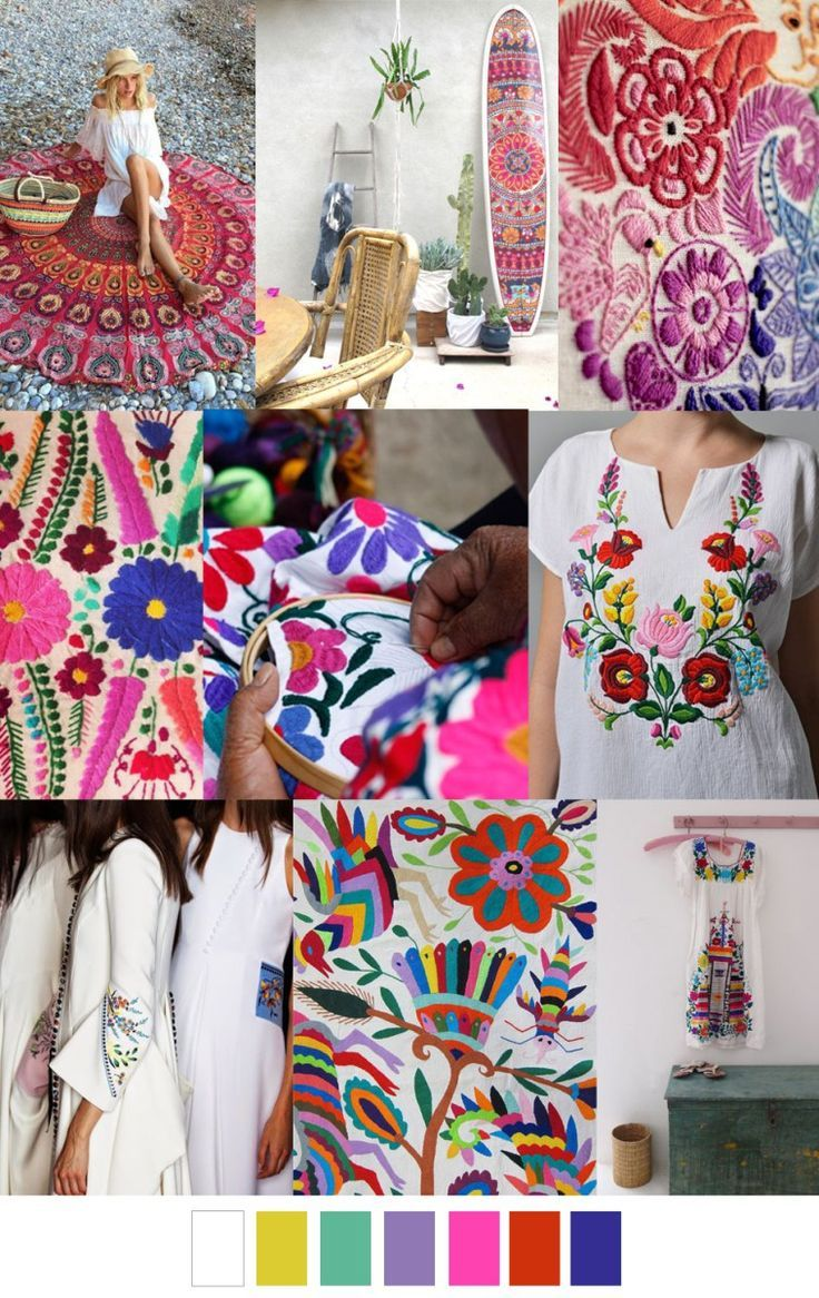 S/S 2017 colors & patterns trends: SURF GYPSY