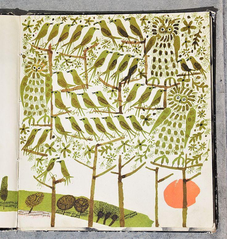 W moim oknie, Illustrated by Teresa Wilbik, 1967 | Garaż ilustracji książkowych