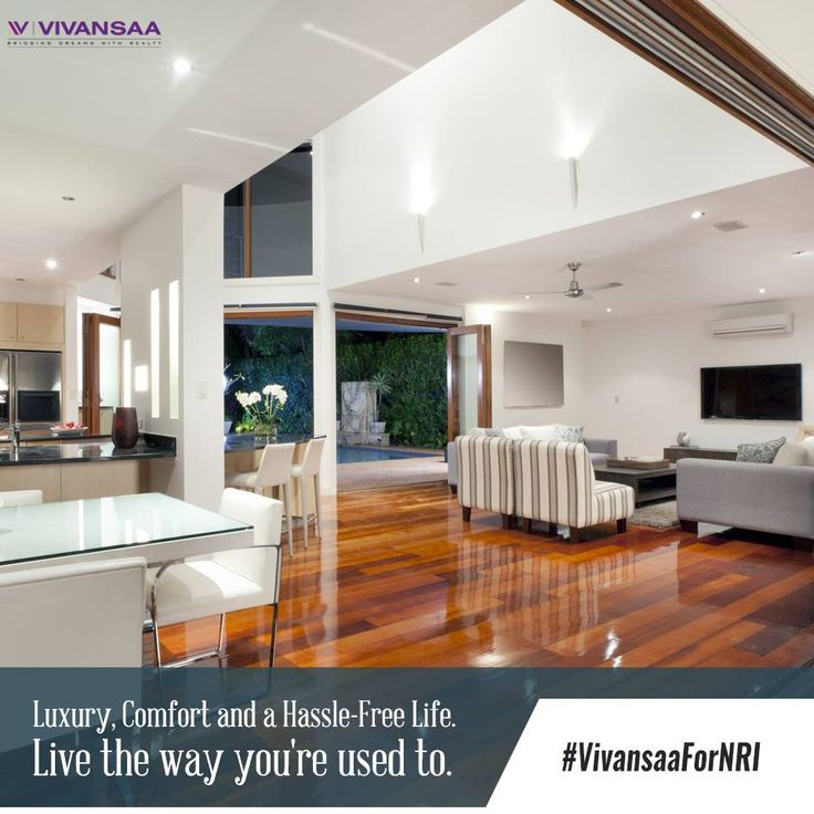 #VivansaaForNRI Your perfect Home awaits you. A #Home with a perfect combination of #luxury and #comfort. Enjoy and live well with #TheVivansaa