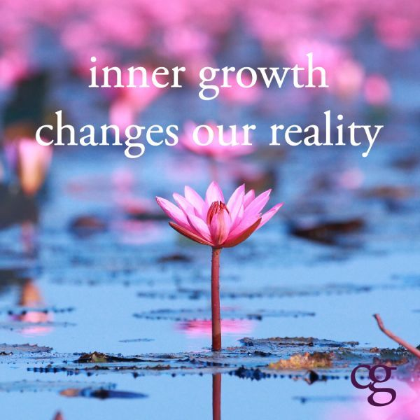 When we outgrow the old version of ourselves, a wonderful new world emerges! Peace <3 Ivonne Teoh.