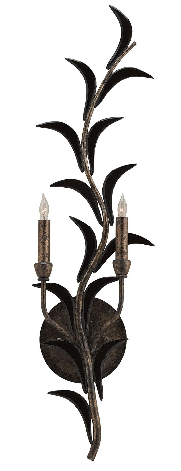 Malverne Left Wall Sconce design by Currey & Company
