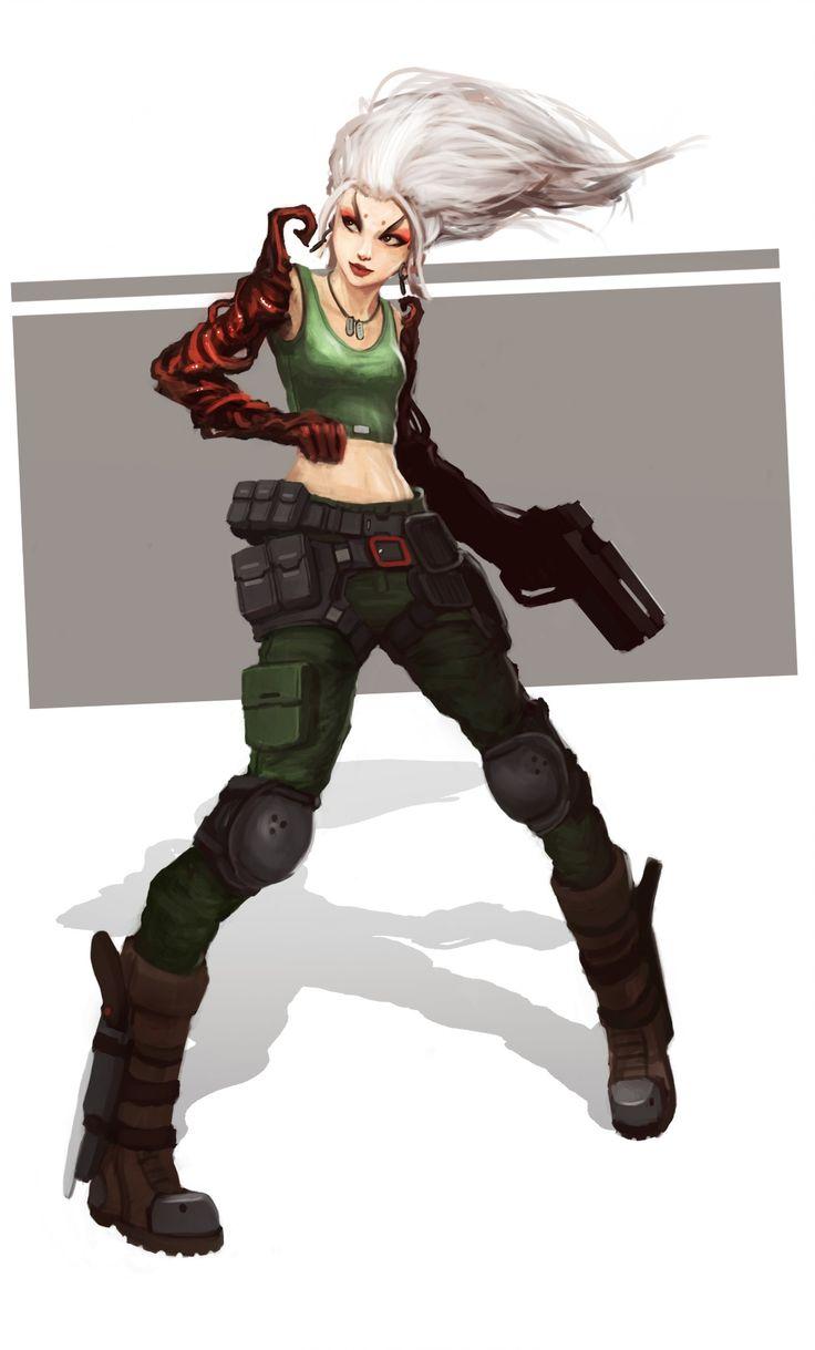 Auteur : Aimmort () Catégorie : Girl with Gun