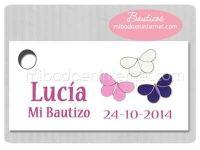 BA144T Etiqueta Detalle Bautizo