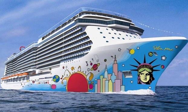 La nave Breakaway per una crociera all'insegna del divertimento e dell'arte. http://www.nuvolari.tv/recensioni--/crociera-bordo-opera-arte