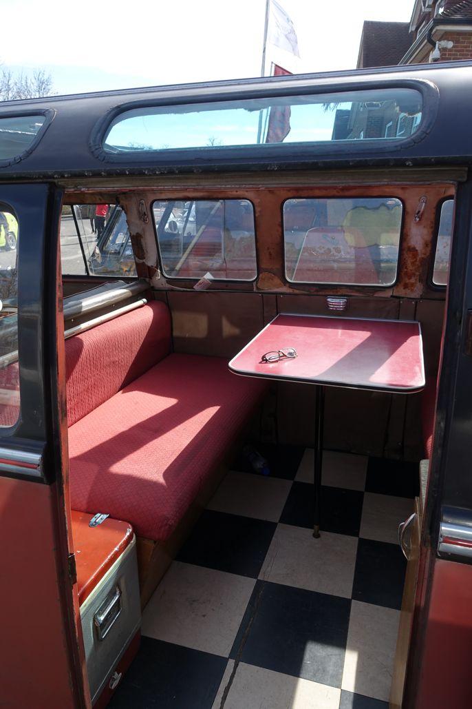"Volkswagen Bus T1 ""Samba"" - interior.  #vwbus #vwmicrobus #volksworld #volksworld2017 #cars #biler #carspotting"