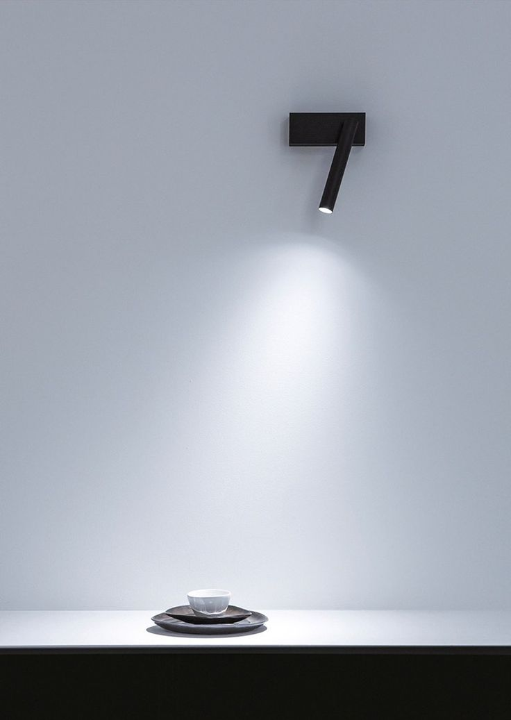 DAVIDE GROPPI | MIRA Wall lamp LED adjustable metal wall lamp Design By Omar Carraglia 2012