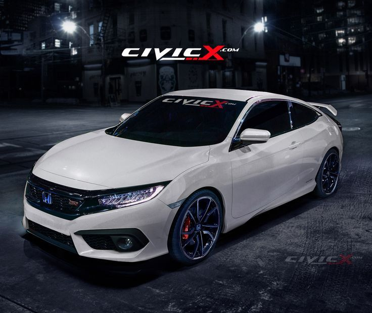 Read More About Our 2016 Honda Civic Si Coupe preview render images | 2016+ Honda Civic Forum (10th Gen) - Type R Forum, Si Forum