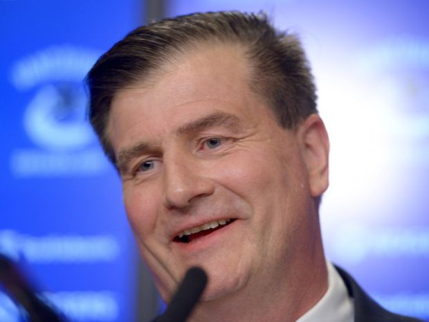Vancouver Canucks introduce new GM Jim Benning, who plans to go back to 'up-tempo, fast skating, skilled game' May 23, 2014