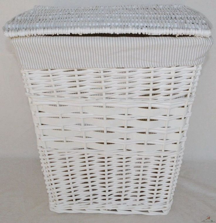 the 25 best white wicker laundry basket ideas on pinterest white laundry basket white. Black Bedroom Furniture Sets. Home Design Ideas