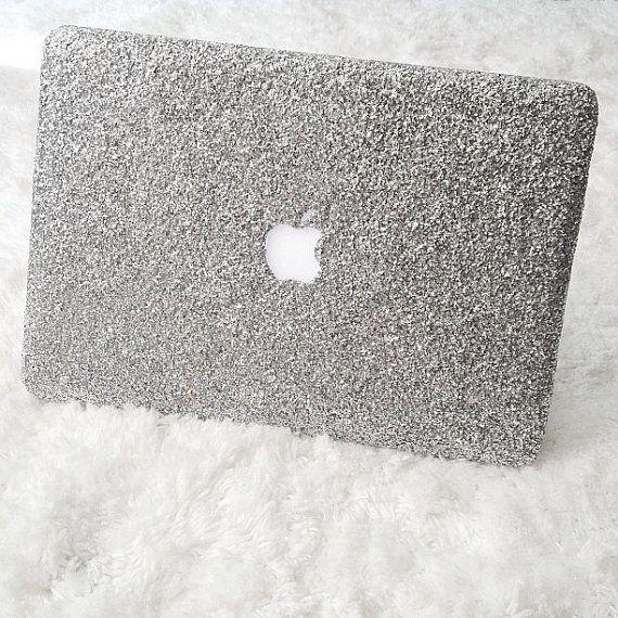 Glitter MacBook Case by SerendipityPattern on Etsy, $50.00
