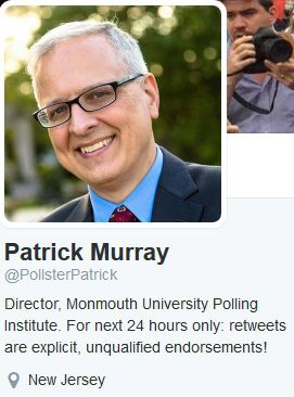 Monmouth University Pollster Patrick Murray Busted Manipulating Poll Data, then Lying About It…