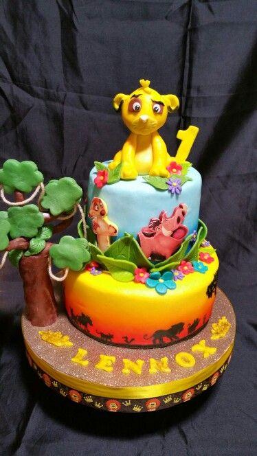 The lion king birthday cake!