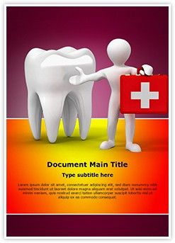 Dental doctor MS Word Template is one of the best MS Word Templates by EditableTemplates.com. #EditableTemplates #Safety #Help #Dental #Service #Kit #Care #Healthcare #Teeth #Dentist #Stomatology #Illness #Dental Doctor #Medical #Sickness #Tool
