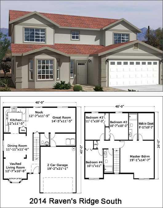 17 best two story floor plans images on pinterest floor plans ravens ridge south 2014 sf malvernweather Image collections