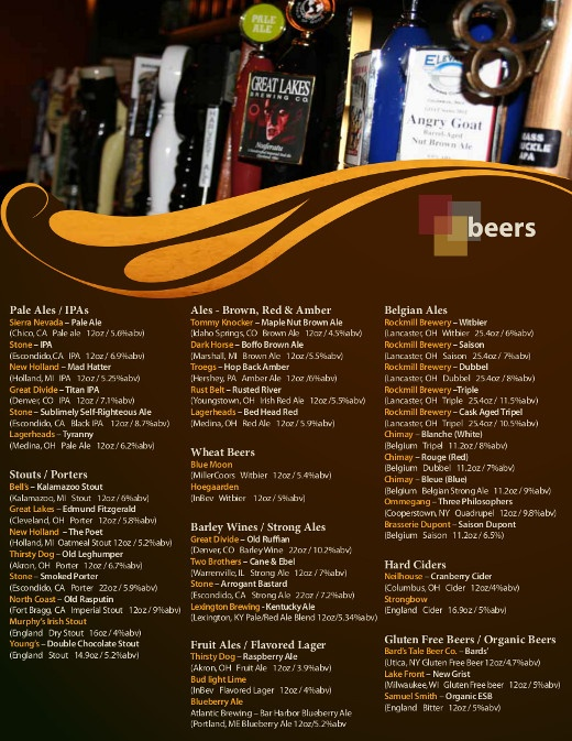17 best Local Roots images on Pinterest Columbus ohio, Roots - beer menu