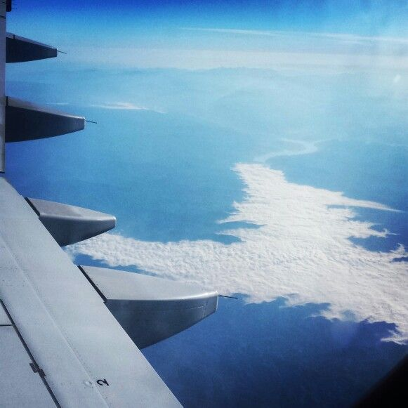 Above Adriatic Sea  #airplane #allblue #pure #toRome