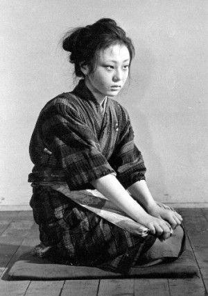 Niki Terumi (二木てるみ) 1949-, Japanese Actress
