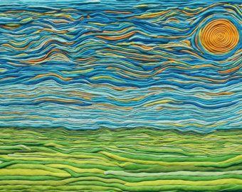 plasticine art landscapes - Buscar con Google