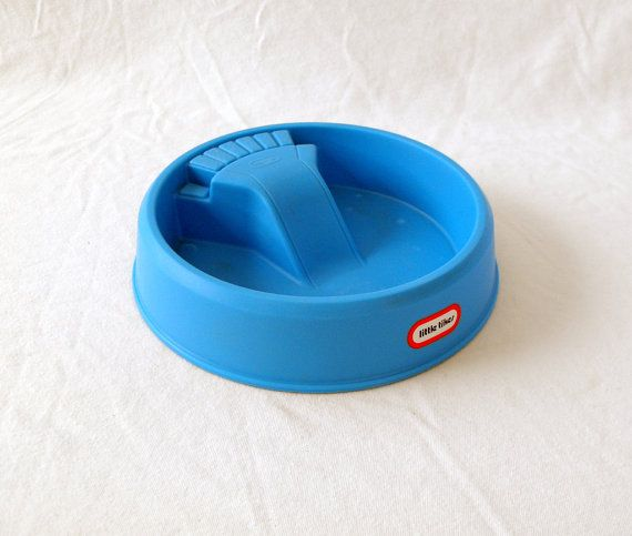 Little Tikes Victorian Kitchen: Vintage Little Tikes Swimming Pool With Slide By