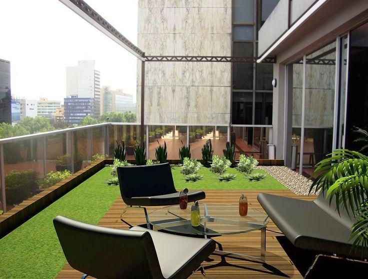M s de 17 ideas fant sticas sobre azoteas verdes en - Terrazas en azoteas ...