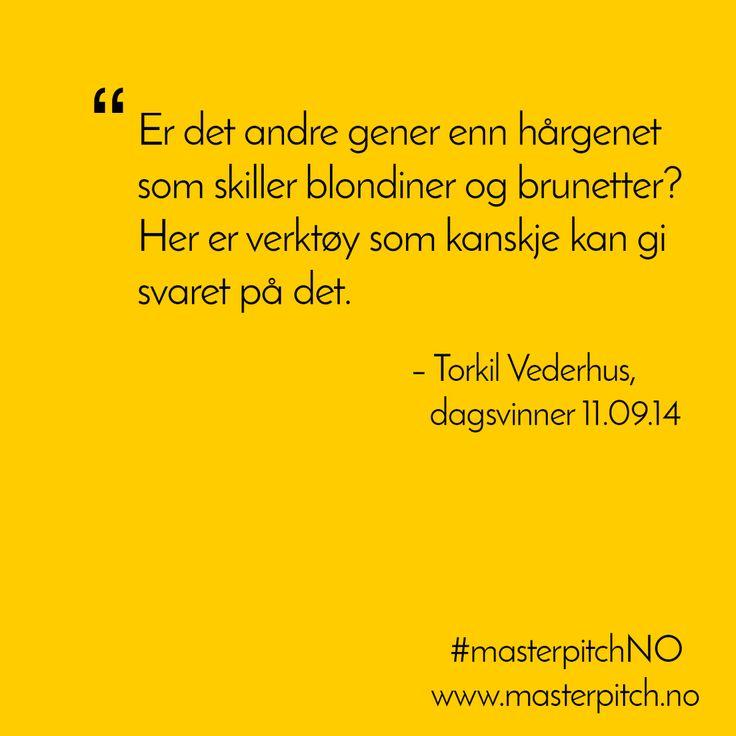 #dagenspitch 11.sept fra Torkil Vederhus http://masterpitch.no/archives/2559