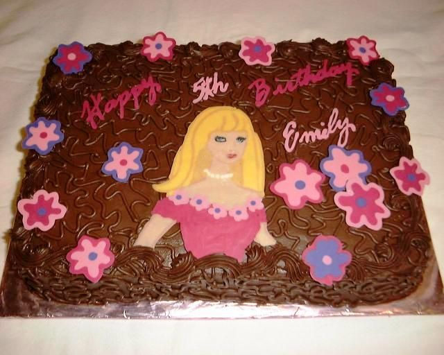 Barbie Chocolate Cake Images : 14 best images about Barbie on Pinterest Logos, Cars and ...