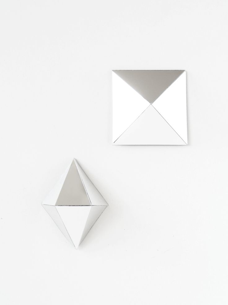 DIY-Geometric-Mirror-Wall-Decor-mirror-mosaic