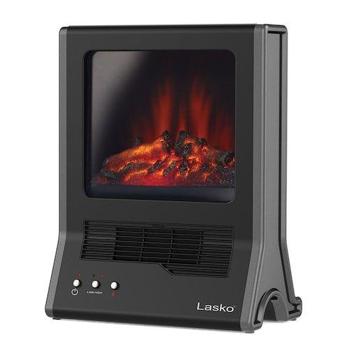Lasko CA20100 Ultra Ceramic Fireplace Heater