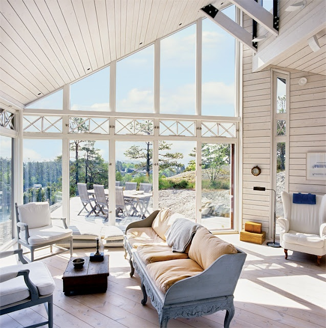 PROPERTY IN THE SWEDISH ARCHIPELAGO WITH REMARKABLE VIEW AND INSPIRATION FROM LONG ISLAND AND FINLAND