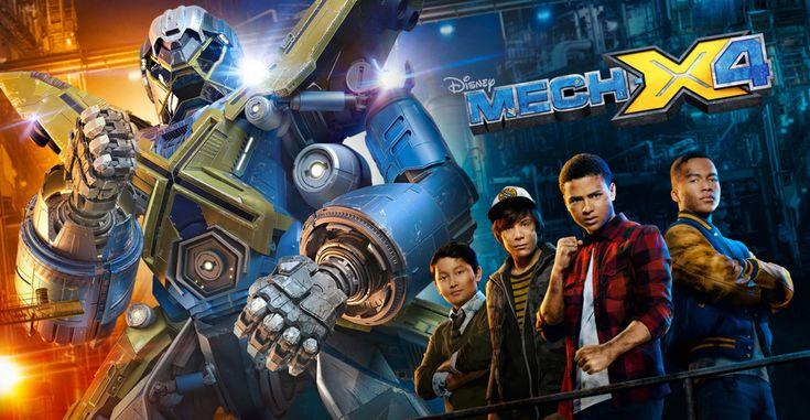 MECH-X4 | Disney XD Latinoamérica